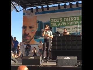 Conchita - Rise Like A Phoenix, Tel Aviv Gay Pride, Israel, 12.06.2015