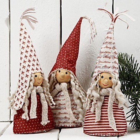 игрушки из лампочек на новый год своими руками
