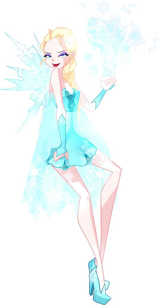 Фанарты Винкс-диснеевские принцессы от Каори Мираи и игра про принцесс!