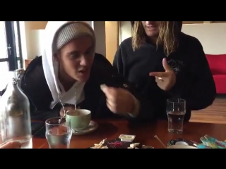 burkgnar: Iceland's Rotten Shark isn't for everyone. But it sure is fun to convince people to try it 😁 @justinbieber happy birth