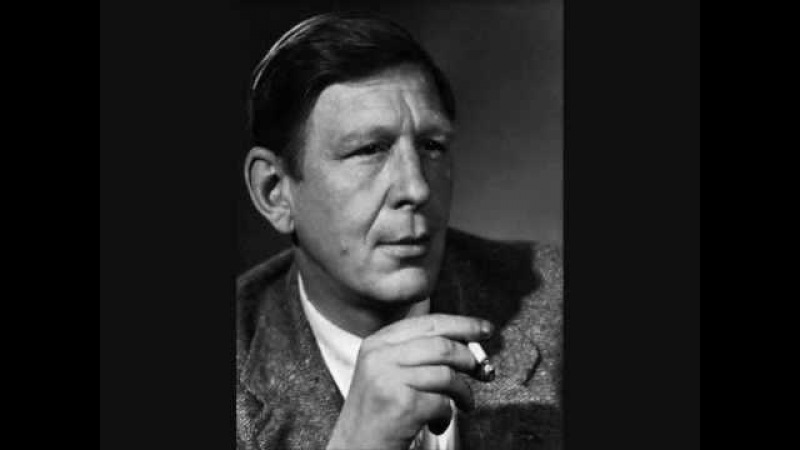 W.H. Auden — September 1, 1939 (read by Dylan Thomas)