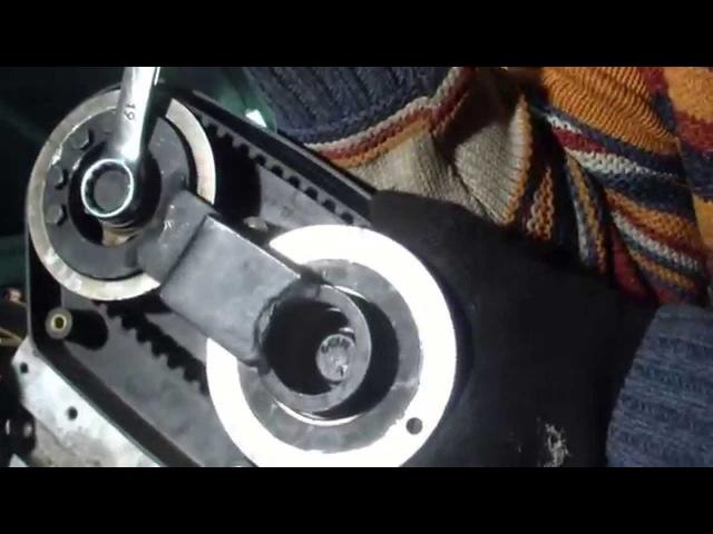 Land Rover Freelander двс КВ6 установка ремня ГРМ