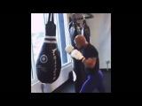 Thiago Alves Working Hard On Striking Skills