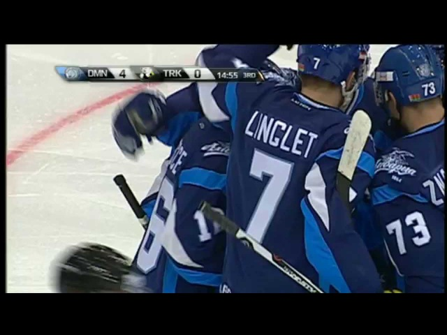 Гол Веси с отличной передачи Лингле / Vesce scores from Linglet blind pass