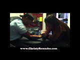 REMATCH Female Bodybuilder Arm Wrestling Male Boxer