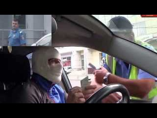 ГАИшник офигел от водителя Общение с ГАИ