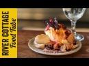 Roast Rhubarb and Hibiscus Muscovado Pavlova - Tom Hunt