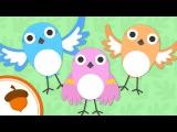1 серия - Обучающий мультфильм на английском языкеHello Baby Sparrows  Treetop Family Ep.1  Cartoon for kids