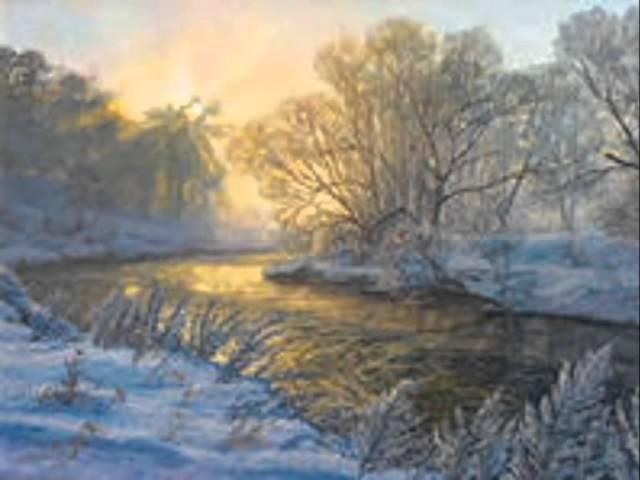 Слайдшоу И. Суриков Зима