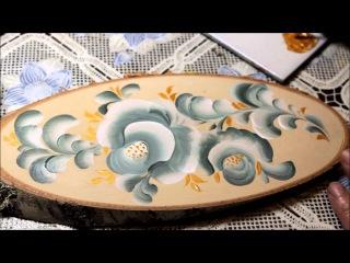 Тестирование акриловых красок TURY Design по дереву