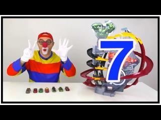 Клоун Дима - Крутые гонки с машинками от Марвел.