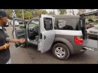Autoline's 2003 Honda Element EX Walk Around Review Test Drive