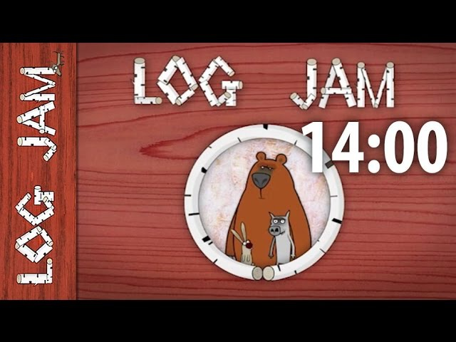 Funny cartoons || Log Jam series (long version) || 14 minutes