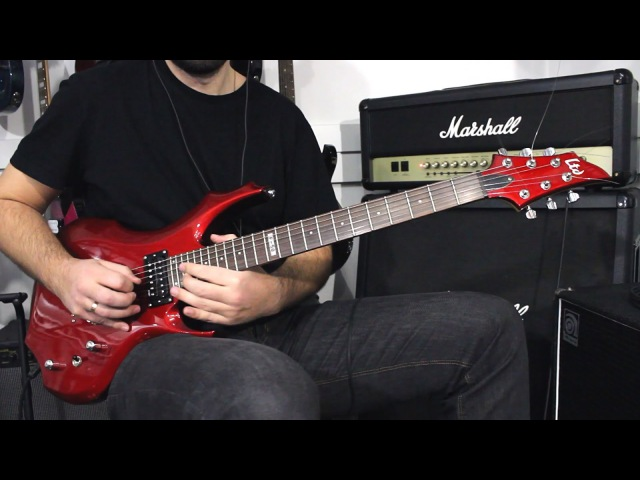 ESP LTD F-50 BCH - Demo Guitar