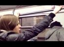 Бой  Драка Пьяных девушек  в метро   Fight   Drunken girl in the subway