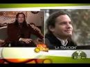 Mario Cimarro en el programma Dia a Dia comenta La Traicion con los subtitulos rusos