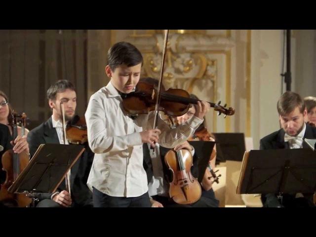 Daniel Lozakovich ( 12 years old) - Introduction and Rondo Capriccioso av Camille Saint-Saëns.
