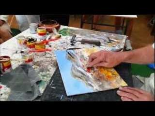 Come dipingere un quadro in 5 minuti con Gighi