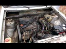VW Golf 1977 1 5 Diesel CK 37kW odpalenie dźwięk engine sound first run cold start