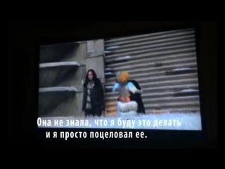 """Вуди Харрельсон о поцелуе Хэймитча и Эффи в """"Голодных играх"""" рус. саб."""