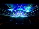 Лазерное шоу на борту лайнера AIDAmar