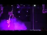 II место Pole dance Artistic Duet, Наталия Чубарь, Елена Кардавильцева, г. Омск. 4 СТИХИИ, Сибирские гонки по вертикали