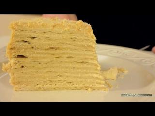 Торт Карамельный Наполеон - 720x540