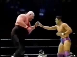 Смертельный бой Такада и Super Vader