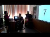 Костя считает ментально и рассказывает стихотворение на открытом уроке в своем классе.