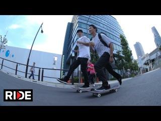 Skating in Tokyo, Japan with Hirotoshi Kawabuchi, Laurence Keefe & More!