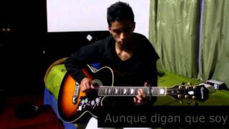 Bandolero-Don Omar Tego Calderon- (Guitar cover-Punteos completos) Instrumental