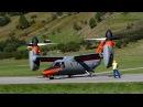 BA-609 Tilt Rotor tests at Ulrichen, Switzerland