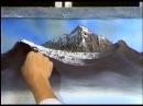 Боб Росс - Учимся рисовать величественные горы (4 сезон)