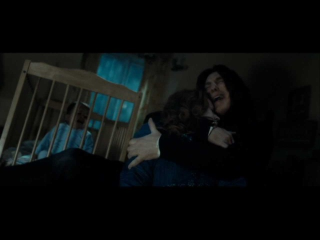 Harry Potter and the Deathly Hallows part 2 - Snape's memories part 2 (HD)