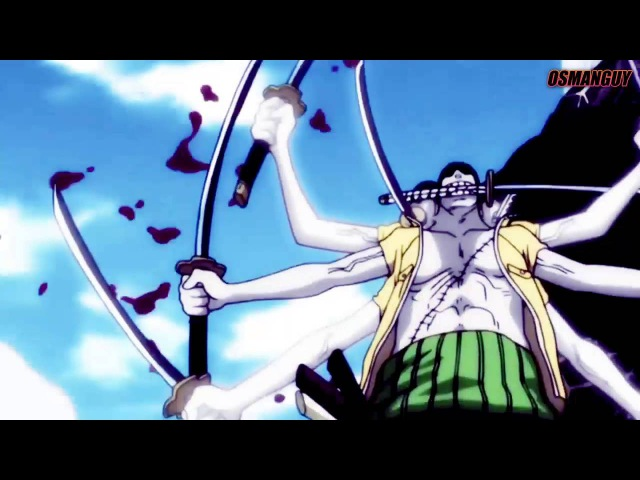 One Piece 「MEP」-「AMV」 - Roronoa Zoro is Unstoppable HD