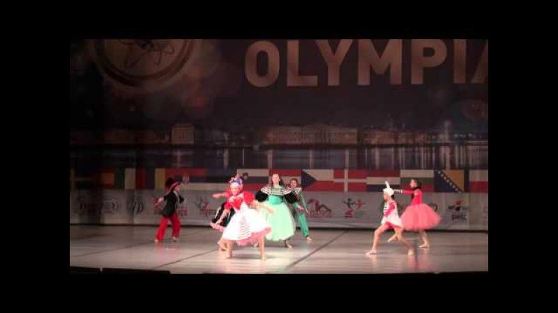 00436 БТО 2015. Show Dance. Дебют. Юниоры, малые группы, финал