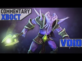 XBOCT playing Faceless void COMMENTARY WEBCAM