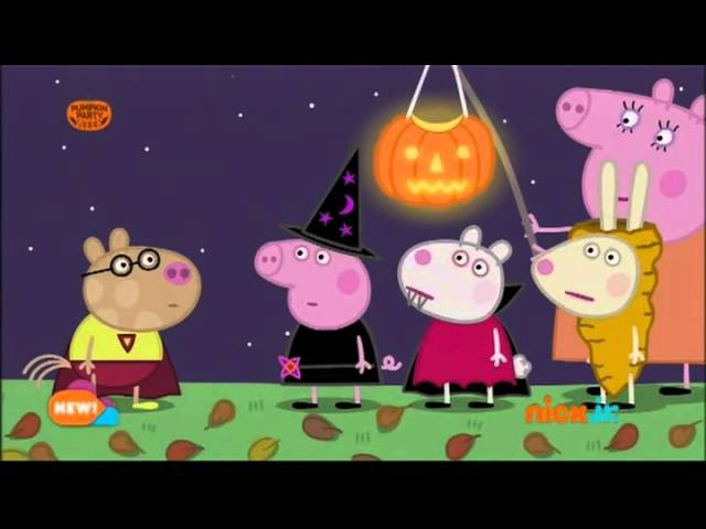 Peppa Pig Pumpkin Party Filmed Digitally in HD
