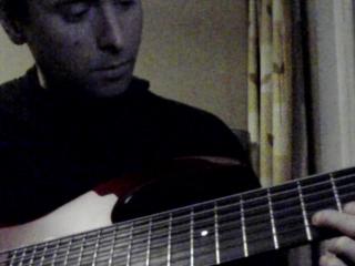 Кривая импровизация на семиструнном басу