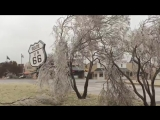 11-27-15 Elk City, Oklahoma- Ice Storm Warning
