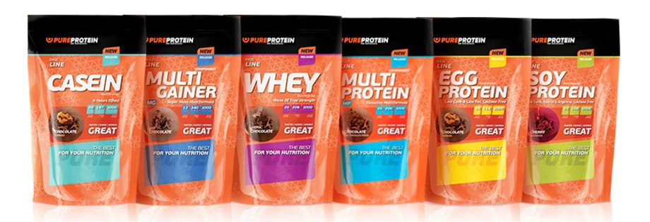 Продукция Пьюр протеин
