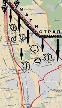 Бутырский район схема