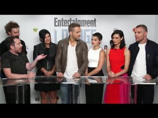 Deadpool at comic con 2015 cast interview_ ryan reyolds, ed skrein _ ew.com