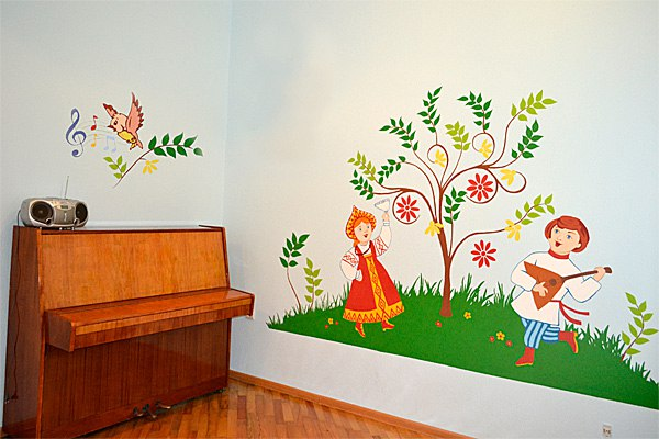 Рисунок своими руками с сад 657