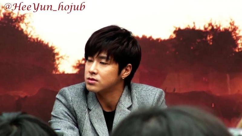 Fancam_Press_131113 Yunho Road for Hope press conf. 2_4 (희망로드 제작발표회 정윤호)