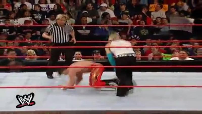 Jeff Hardy vs. Eddie Guerrero (c) - WWF Raw № 466 (29/04/2002)