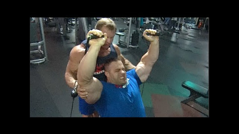 Evan Centopani and John Meadows Train Shoulders | Part 2