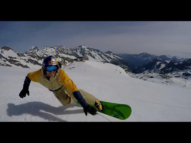 SG Snowboards CULT - Funcarving Action Sigi Grabner, Aaron March