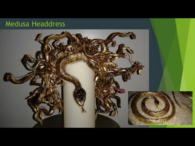 Medusa Headdress slideshow