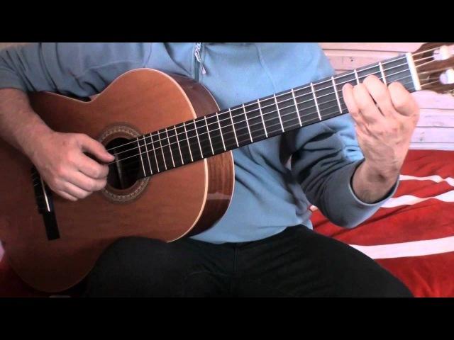 Fernando Sor Etude Этюд Ф Сор гитара